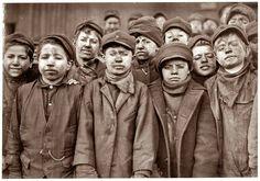 LEWIS HINE HISTORIA DE LA FOTOGRAFÍA (VIII)