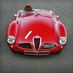 1953 Alfa Romeo 3000 Disco Volante No.1 pt.2 - 2012 Silverstone Classic by rookdave on Flickr.