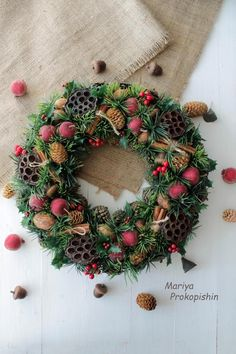 gallery Christmas Wreaths, Christmas Decorations, Christmas Tree, Holiday Decor, Food Gifts, Gourds, Door Wreaths, My Etsy Shop, Workshop