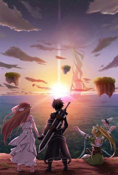 Sword Art Online>> wrong! Alfheim online! Obviously.