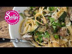 Sallys Rezepte - One Pot Rezept mit Tagliatelle und Gemüse