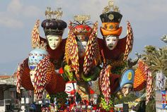 The most famous Carnival in Italy!  The Carnival of Viareggio (Italian: Carnevale di Viareggio) is a carnival event yearly held in the Tuscan city of Viareggio, in Italy. It is considered amongst the most renowned carnival celebrations in both Italy and Europe.