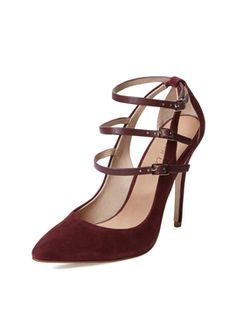 Holly Triple Buckle Pump from Date Night Heels on Gilt