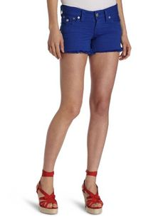 True Religion Women`s Kiera Mid Thigh Co Short - Listing price: $150.00 Now: $65.97 + Free Shipping