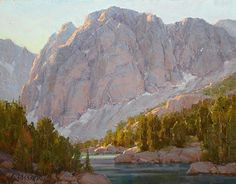 Morning's First Rays by Jean LeGassick Oil ~ 11 x 14