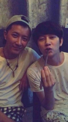Heechul Private Account Update with Hangeng .. OMG HanChul !!! ♥