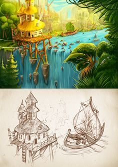 Introducing our new art work for fantasy game. Hope, you will like it :)