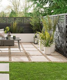 Everscape™ Limestone Outdoor Tile x Outdoor Paving, Garden Paving, Outdoor Gardens, Courtyard Gardens, Outdoor Balcony, Small Backyard Gardens, Outdoor Flooring, Backyard Patio, Backyard Landscaping