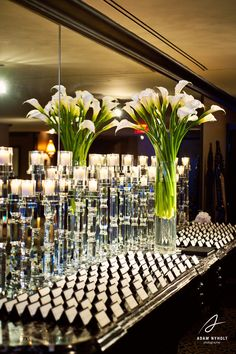 White calla-lilies from Wedding Flowers by Lisa. Photography by Adam Nyholt, Photographer.