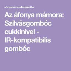 Az áfonya mámora: Szilvásgombóc cukkinivel - IR-kompatibilis gombóc
