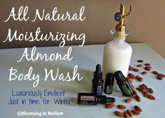 All Natural Moisturizing Almond Body Wash keeps your skin soft and supple this…