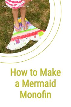 Learn how to make a mermaid monofin. Inspired by The Little Mermaid, a simple DIY craft tutorial idea for pretend play and dress up. #thecraftyblogstalker #diymermaid #monofin #mermaidmonofin Disney Ideas, Disney Diy, Easy Diy Crafts, Diy Crafts For Kids, Craft Tutorials, Diy Projects, Mermaid Diy, Simple Diy