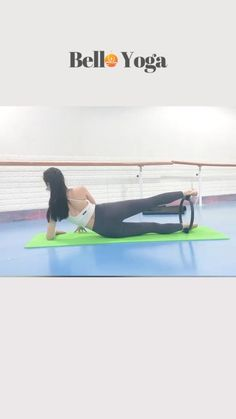 Pilates Ring Exercises, Pilates Workout Videos, Yoga Videos, Fitness Workout For Women, Yoga Fitness, Hotel Room Workout, Restorative Yoga Poses, Hit Cardio, Different Types Of Yoga