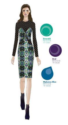 Charlotte Ronson - PANTONE Color Emerald - Pantone Fashion Color Report, Fall 2013