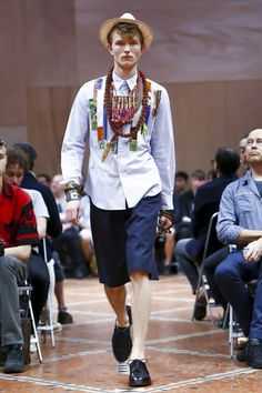 Junya Watanabe Man Menswear Spring Summer 2016 Paris - NOWFASHION