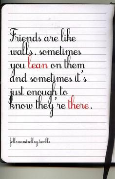 Friendship Is....