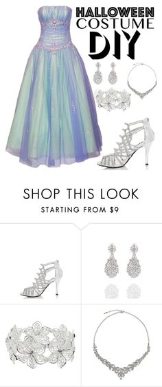 """DIY Halloween Costume - Fairy Godmother"" by lynnbowersx ❤ liked on Polyvore featuring M&Co and John Lewis"