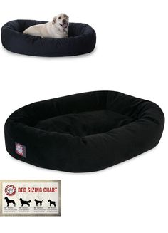 Animals Dog: Pet Bed For Large Dogs Slumber Couch Sleep Cushion Bagel Donut Xl 110 Animal BUY IT NOW ONLY: $78.99