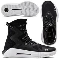 Under Armour Women's Highlight Ace All Volleyball, High Top Sneakers, Sneakers Nike, Sports Shoes, Under Armour Women, Herringbone, Style Ideas, Black Shoes, Air Jordans