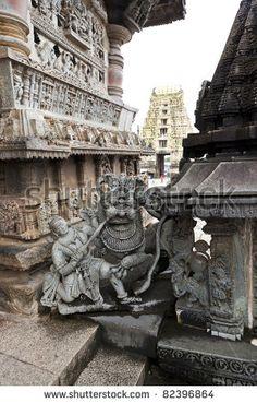 India Karnataka Belur Temple Entrance  Image ID: 82396864