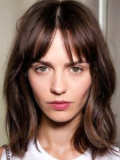 Trendy Long Bob Haircuts For 2016 2016 Haircuts Hairstyles And Pictures Of Long Bob Haircuts With Bangs
