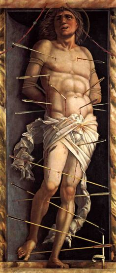 St. Sebastian by @artistmantegna #highrenaissance