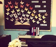 Resultado de imagen de high school english writing bulletin board
