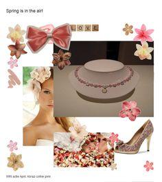 WIN-actie April: Abrazi collier pink  Xsasa bruidsmode Groningen