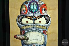 "Bender by ODÖ (France), ""Les Enfants Terribles"" Exhibition, Lyon's Biennial, France   #art"