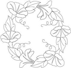 Quilters Flower 30 Larger (HDFQ30C) Embroidery Design by Anita Goodesign