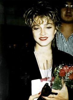 """""""Madonna in Japan, 1985 """" Madonna Young, Madonna Rare, 1980s Madonna, Divas, Madonna Looks, Madonna Albums, Best Female Artists, Madonna Pictures, 80s Trends"""
