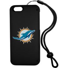 Siskiyou iPhone 6 Plus/6s Plus Wallet/Storage Case NFL Logo Miami Dolphins Siskiyou Electronic Cases
