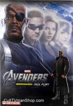 Nick Fury - The Avengers from Dragon