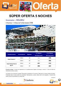 Grandvalira 5 noches + 4 días FF Grandvalira Febrero desde 378 euros ultimo minuto - http://zocotours.com/grandvalira-5-noches-4-dias-ff-grandvalira-febrero-desde-378-euros-ultimo-minuto/
