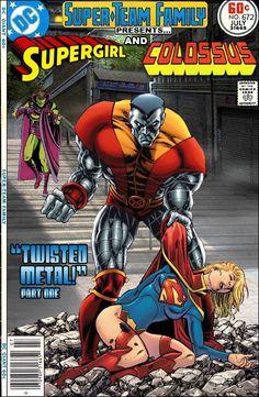 #dc #dccomics #marvel #marvelcomics #superteamfamily  #comicbooks #covers #superheroes #comicwhisperer #comiccovers  #supergirl #colossus