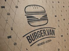 Logo made for a friend's Food Truck, BurgerVan Bucuresti is the name, very dear project of mine.