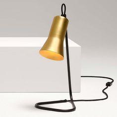 ross gardam silhouette lamp gold