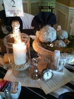 table decor!!