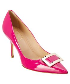 ROGER VIVIER | Roger Vivier 85 Patent Pump #Shoes #Pumps & High Heels #ROGER VIVIER