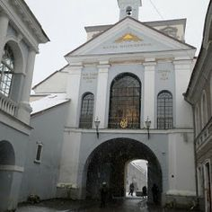 The Gate of Dawn the best way to start your day in Vilnius