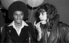 Michael Jackson and Steven Tyler Studio 54