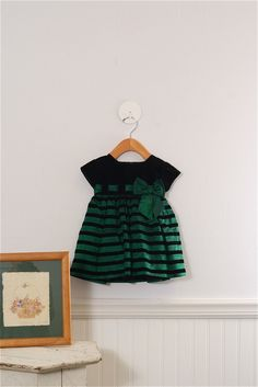 Beautiful #Christmas Dress Size 9-12 Mo. Girls by Sylvia Whyte $24.99