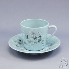 Arabia Lumikukka コーヒーカップ  (青)