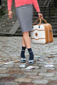 CHATELET 48h bag #DELSEY #travel #style