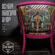 Shocking pink armchair อาร์มแชร์ OCHAR NAKORN |โอชานคร @ocharnakorn  .............. Material : Teak wood & 600D fabric Size : W70cm. X L70cm. X H83cm. Description : Handmade and crafted with solid teak wood, Shocking ping paint and lacquer shine finish. Price : 18,000 thb. | $550 .............. More information and order Inbox : FB/ocharnakorn Line : ocharnakorn Email : ocharnakorn@gmail.com .............   Design by : 305STOP STUDIO