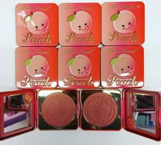 Too Faced Peach Spring 2017 Collection #beautynews #beauty2016 #beautyreview…