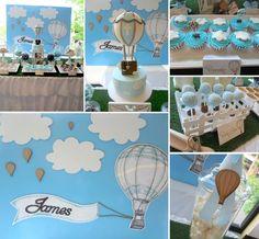 Hot Air Balloon Christening