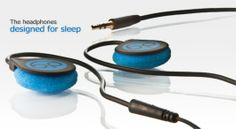 Bedphones - headphones designed for sleep.