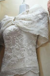 Wedding Gown Grooms Pina Barong With Classic Embroidery Entourage Dresses