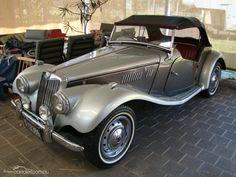 1954 M.G. TF Veteran Car, Mg Cars, Car Trailer, British Sports Cars, Pedal Cars, Unique Cars, Exotic Cars, Supercars, Used Cars